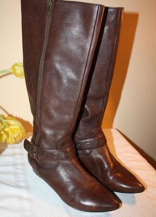 Суперові чобітки на широку ніжку 41 р