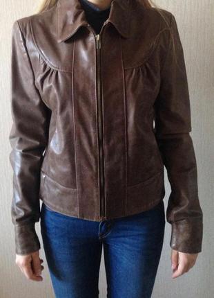Кожаная курточка laura ashley