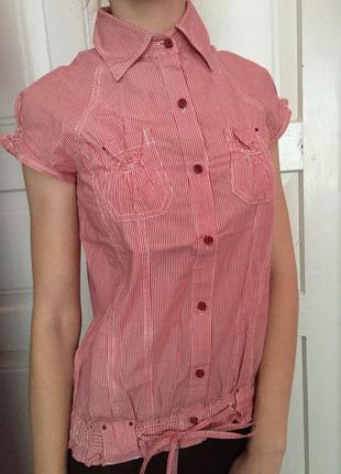 Блузка в полосочку