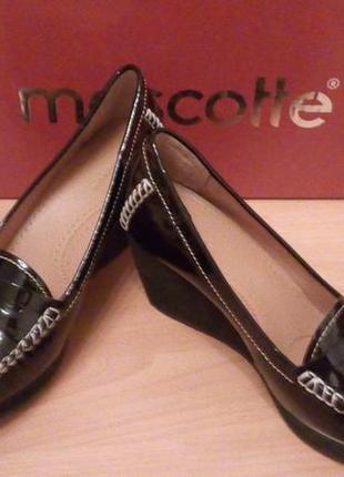 Туфли женские mascotte (новые)