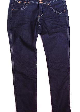 Джинсы темно синии ,новые,h&m,sqin,размер 29