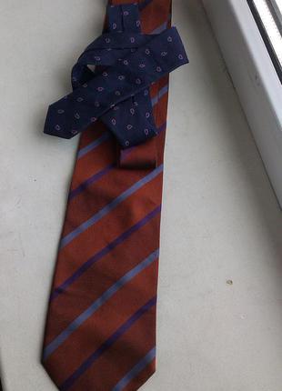 Шелковый галстук tommy hilfiger