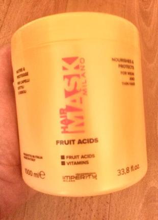 """Маска для волос imperity """"цветочный йогурт"""" 1 литр."""