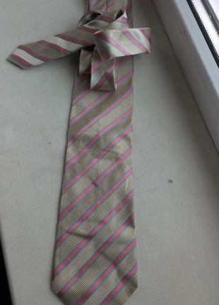 Шелковый галстук paul smith