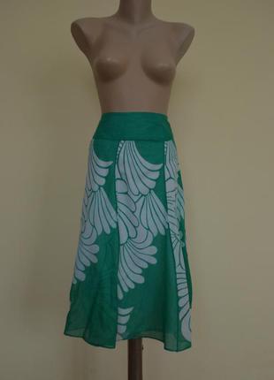 Легкая летняя юбка большой размер