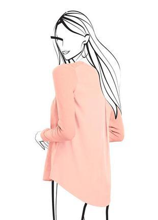 Комбинированный пуловер от tchibo, германия - шифон, джерси