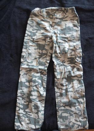 Милитари камуфляжные хаки штаны s/m