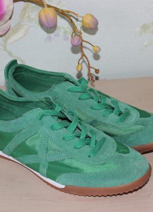 38,5 25см venice яркие легкие кроссовки зеленые сеточка
