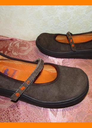 Замшевые туфли мокасины ~ rocket dog~ р 36