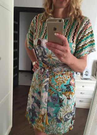 Платье missoni цветочная коллекция