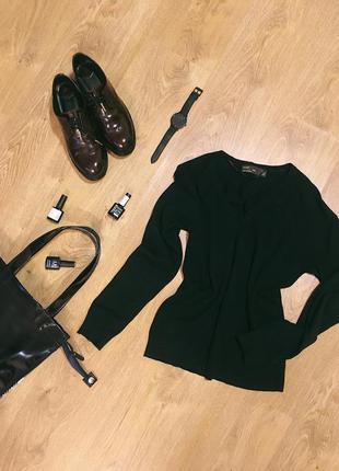 Черная кофта-свитерок zara