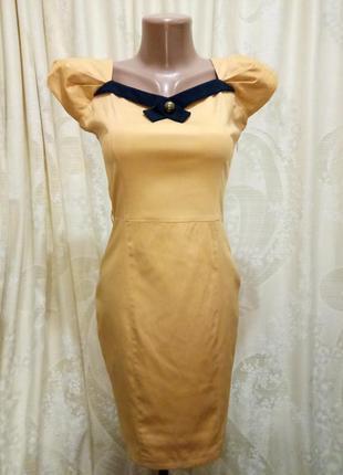 Элегантное платье карандаш приталенное по фигуре 36 размер trg