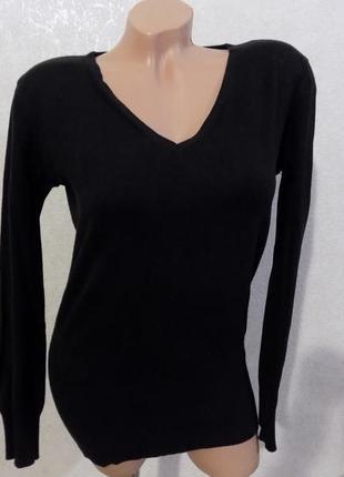 Пуловер кофта джемпер черный фирменный broadway размер 46-48