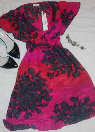 Шелковое платье от dept 100% шелк