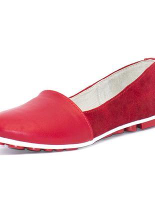 Балетки натуральная кожа замша winner boots слипоны кожанные замшевые туфли без каблука