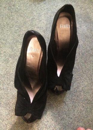Туфли,  стелька 26.5, кожа