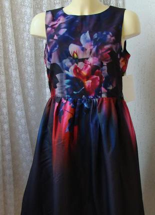 Платье летнее очень красивое little mistress р.46 №7442