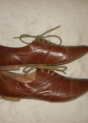 Фирменные туфли лоферы atmosphere