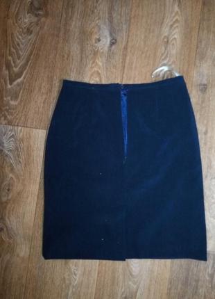 Красивая юбка синяя фирменная