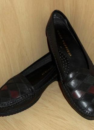 Туфли мокасины hush puppies натуральная кожа р. 36-37 ст. 23,8 см