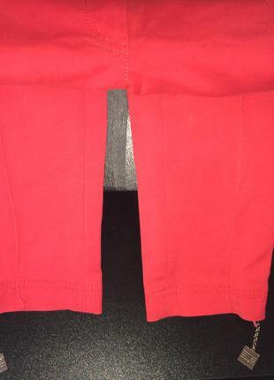 Продам штаны / джинсы красного цвета