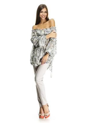 Шелковая блуза италия