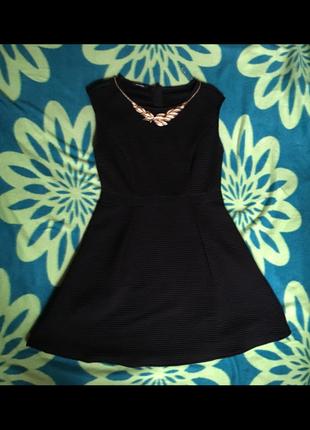 Чёрное вечернее платье promod, р-р l.
