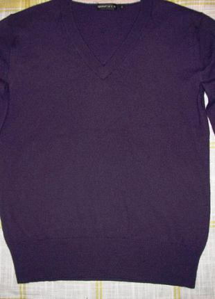 Bigenkorf нидерланды лаконичный джемпер пуловер свитер шерстяной м