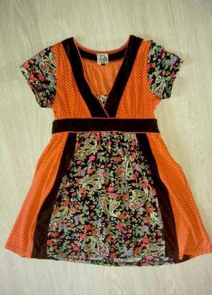 Платье винтажное весенее, l, 46-48, обмен есть