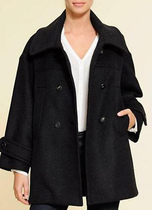 Крутое бойфренд пальто mango - размер с - можно и на с, ин а м - стоило 109 евро