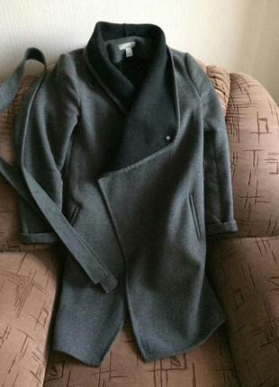 Пальто бойфренд от h&m
