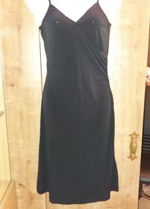 Тонкое платье сарафан h&m вечернее выпускное