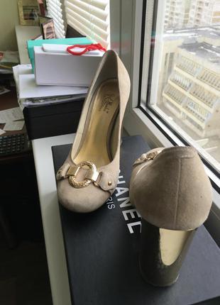 Туфли замшевые. ellenka