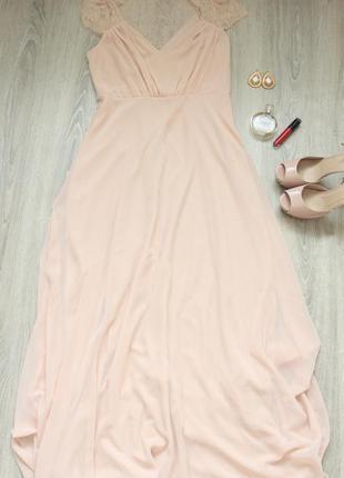 Легкое вечернее/выпускное платье в пол