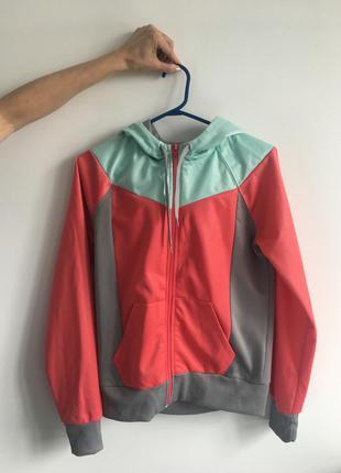 Спортивная легкая куртка на замке h&m