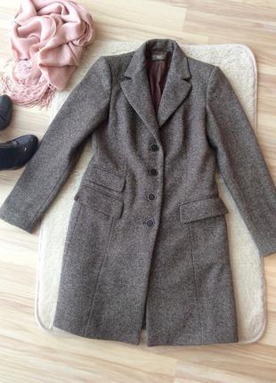 Итальянское пальто 100% шерсть