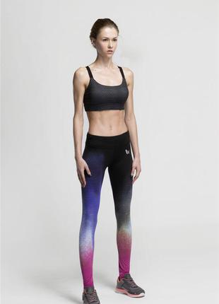 Спортивные лосины, vansydical, спортивные леггинсы, женские, для фитнеса, для спортзала, йога