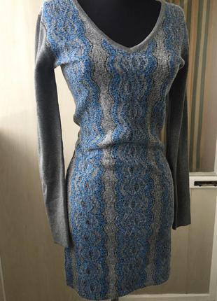 Качественное трикотажное платье yuka paris