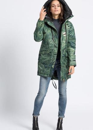 Парка куртка теплая джунгли