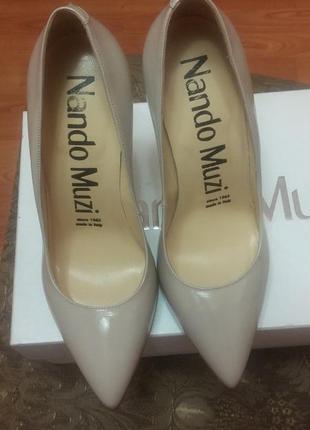 Итальянский шик! идеальные туфли лодочки от nando muzi!