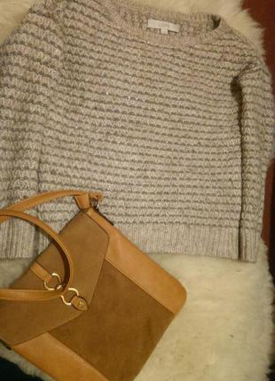 Очень теплый и стильный свитерок от loft, размер s