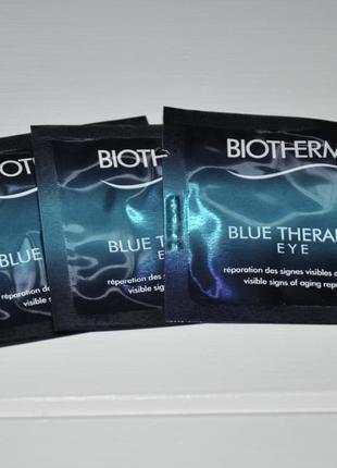 Крем для кожи вокруг глаз biotherm blue therapy eye объем 1мл оригинал