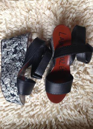 Очень стильные босоножки lanvin 2012 ete