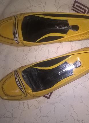 Туфли желтые