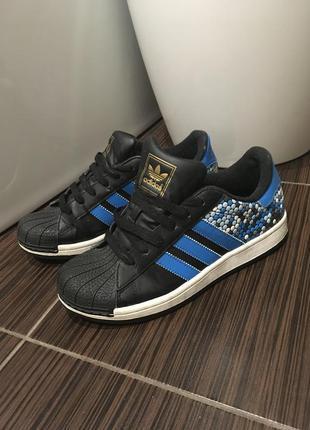 Adidas superstar кроссовки 24 см стелька