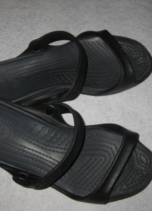 26,5 см стелька, босоножки шлепанцы кроксы crocs, 40-41 р-р