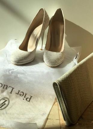 Туфли pier lucci с сумочкой в подарок