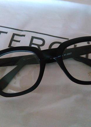 Имиджевые очки с защитой от ультрафиолета,оправа