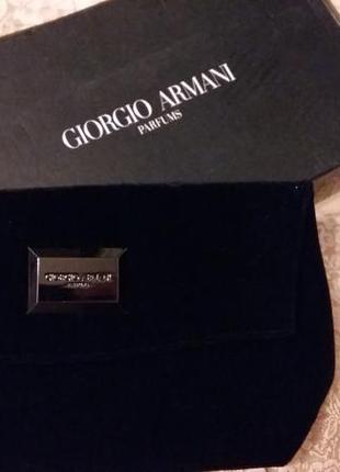 Клатч велюровый giorgio armani