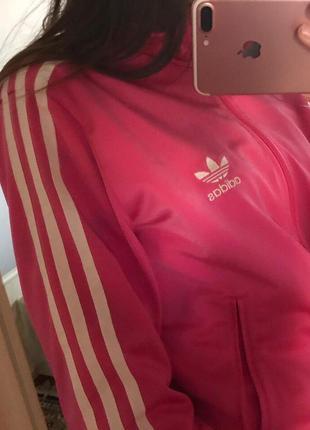 Adidas олімпійка кофта спортивная олимпийка батник m -l